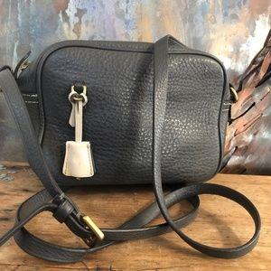 J. CREW Signet Leather Crossbody Bag
